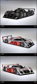 Audi R12C TDI Concept 2010 by ev-one