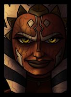 Dark Side Ahsoka by PadawanLinea