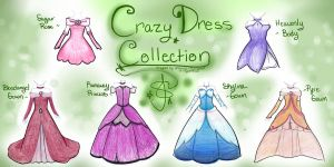 Crazy Dress Collection by xXEternal-twilightXx