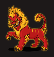 Chinese Lion by gothic180