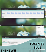 Yosemite blue | ThemeW8 AND 8.1 by DarkParadiise