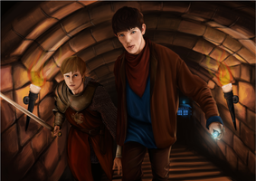 doctor!merlin by merthurslover