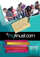 Myknust.com flyer by Styve-gh
