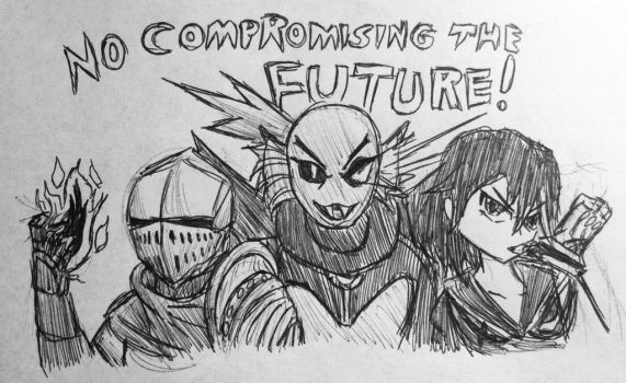 No Compromising the Future! by MechaG11