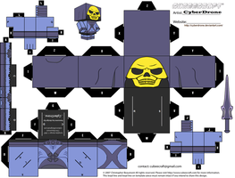 Cubee - Skeletor 'Classic' by CyberDrone