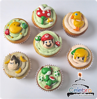 Game cupcakes by The-Nonexistent