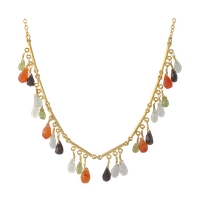 beaded necklace stock png by DoloresMinette
