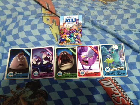 MY OOZMA KAPPA SCARE CARDS ARRIVED TODAY! :D by Cartuneslover16