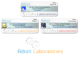 Adroit Labs Cards by keeperxiii