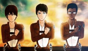 Attack On Titan: OC's by Imaginary2095