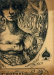 Queen of Spades - ACEO by sphinxmuse