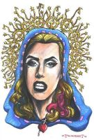 Our Lady of Gaga by olybear