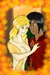 Seasonal Couples Contest Entry: Cyrus and Matalia by BLACKBLOOD-QUEEN