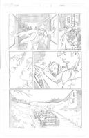 Thor Page 11 Pencils by Theamat