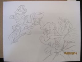Pencil Rarity/RD v Twi/AJ by LateCustomer