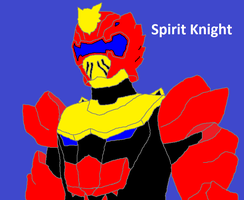 Spirit Knight by bumblebeegirl1234
