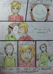 PewDiePie and Cry - Flowers For My Valentine by Naruchen