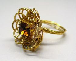 Amberina Ring by BenaeQuee