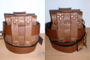 Leather Pouch by LeatherCraft
