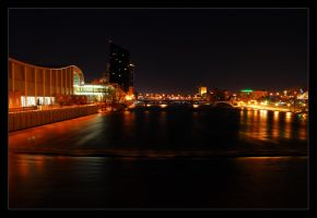 Grand Rapids Grand River by FoxMcCarther