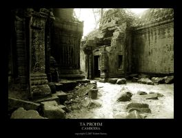 Ta Prohm - Cambodia by Robert75