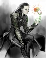 Just wanted to be your equal. by Loki by Vane401