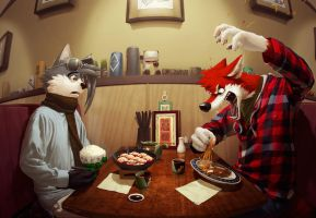 Foreign manners by stucat