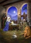 Nativity Scene by dashinvaine