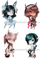 mixed adopts CLOSED by PurrineeAdopts