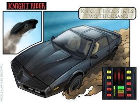 Knight Rider fanart by Twarda8
