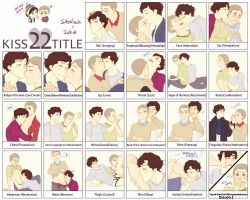 Kiss 22 Title Meme Johnlock by Nihui