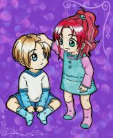 Leon and Claire : Kids by LeonandClaireBSAA