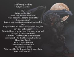 Suffering Within by MadArtistParadise