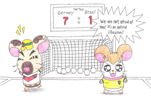 Anecdote with World Cup 2014 III by macaustar