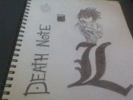 L from death note by Nightwing430