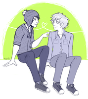 A perfect love like Craig and Tweek by AvenK