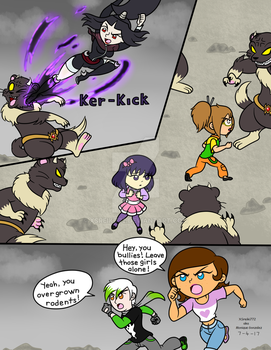 Attack of the Mutant Weasels pg 2 by XSreiki772