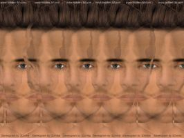 Magic Eye James portrait by 3Dimka