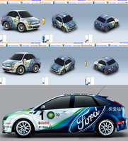 Ford Focus CCC Race Car by Jest84
