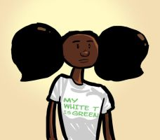 Her White T is Green by Ryan-Rhodes