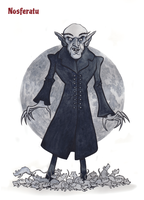 Nosferatu by JonBeanHastings