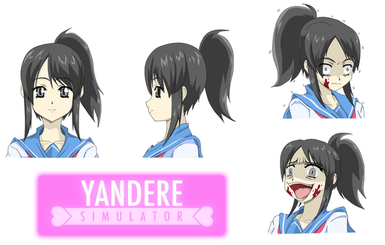 Yandere Simulator Fan Art: Yandere-Chan by Zero-Q