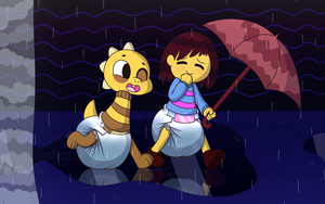 A Soaking Stroll by Hourglass-Sands