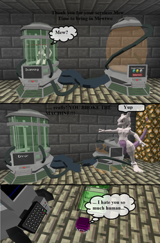 The Rise and Fall of MewTwo by MMDGLaDOS