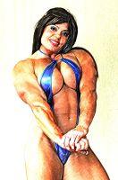 Bodybuilder Andrea 2 by rorydnumber2