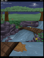 Adal Wolf Comic Prologue PG 1 by KateChambers