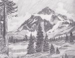 Mountain Landscape by Melmo1123