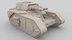 Macharius super heavy tank by 3liteChomp