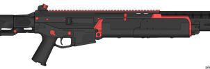 Weapons: NGR-22 LMG by purpledragon104
