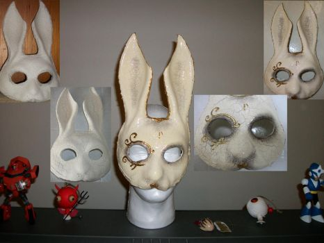 Splicer Bunny Mask by truesanji